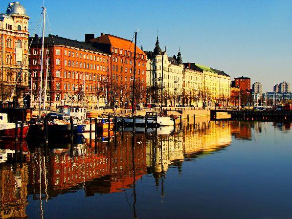 В ноябре в Финляндии холодно и промозгло, однако изредка случаются и хорошие дни