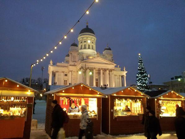 С ноября по всей Финляндии начинают открываться рождественские ярмарки