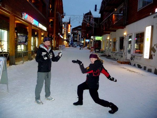 В ноябре снег может выпасть даже в южной части Финляндии