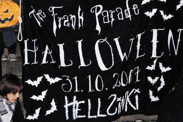 Приглашение на ночные гуляния в Хельсинки, посвященные Хеллоуину