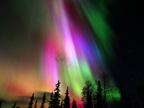 Отдыхая в октябре в Финляндии, не упустите возможность увидеть северное сияние, или как его называют здесь - Aurora Borealis