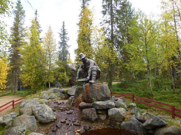 Финляндия в давние времена была известна среди золотоискателей, но в наше время стоит рассчитывать разве что на золотую листву!