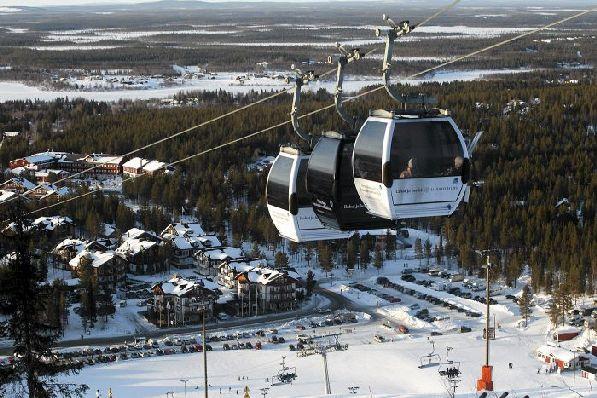 Если во многих странах Европы в апреле горнолыжный сезон уже завершён, то в Финляндии вы ещё сможете заняться любимыми видами зимнего спорта.