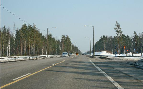 Дороги в Финляндии в отличном состоянии!