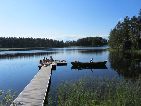 Финляндия - край тысячи озёр!