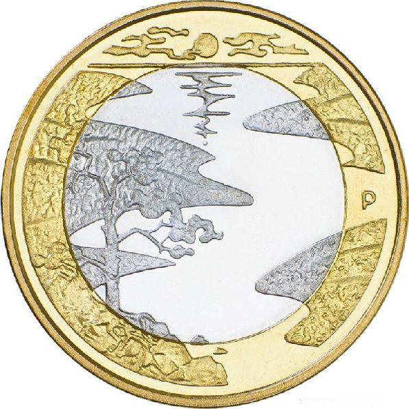 5 евро, аверс.