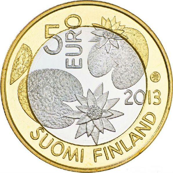 5 евро, реверс.
