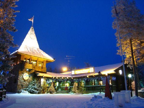 Йолупукки живёт на краю Финляндии, но о нём знают во всём мире!