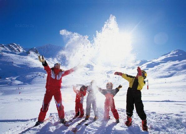 Финские горнолыжные курорты идеально подходят для отдыха всей семьёй.