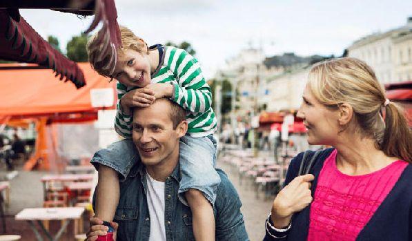 Хельсинки - один из наиболее посещаемых городов Финляндии среди семейных пар с детьми.