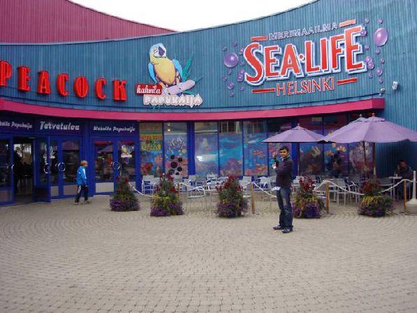 Аквапарк ''Sea Life Center''.