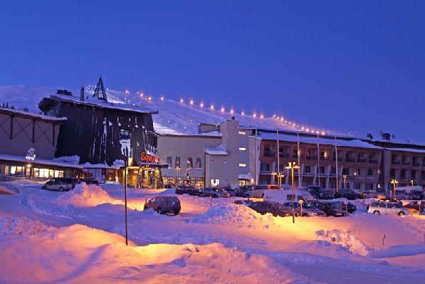 Отель ''Saaga'' в Юллясе - один из самых лучших.