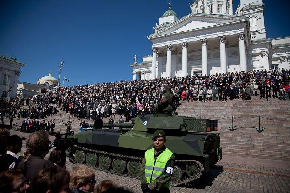 В день оборонительных сил в столице творится настоящее столпотворение.