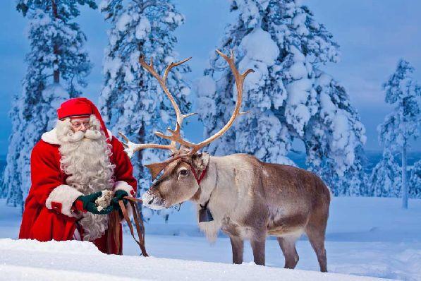 Новый год с настоящим Дедом Морозом - в Финляндии эта мечта может стать реальностью!