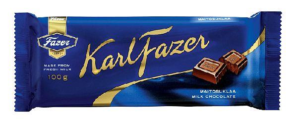 Знаменитый шоколад кондитерского завода ''Fazer''.