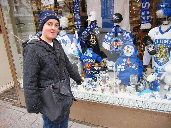 Выбор сувенирной продукции в Финляндии очень широк.