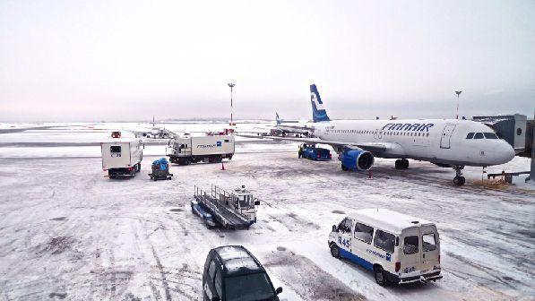 """""""Finnair'' - главный воздушный перевозчик по маршруту из России в Финляндию."""